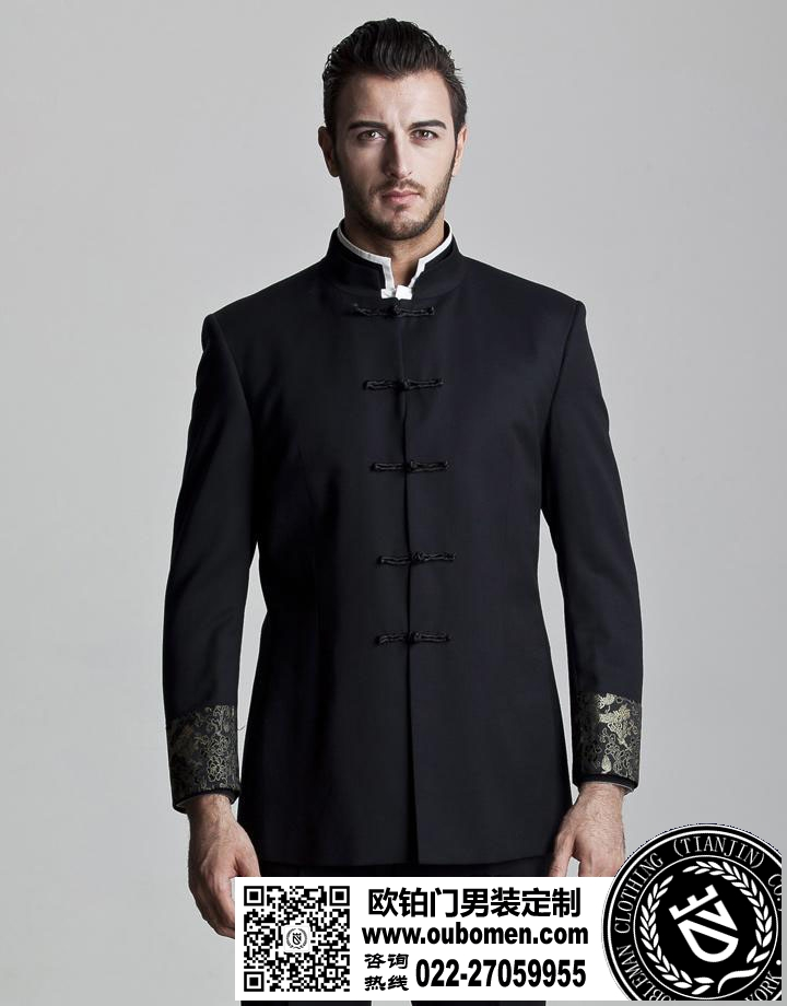 西装扣子-男士西装细节搭配