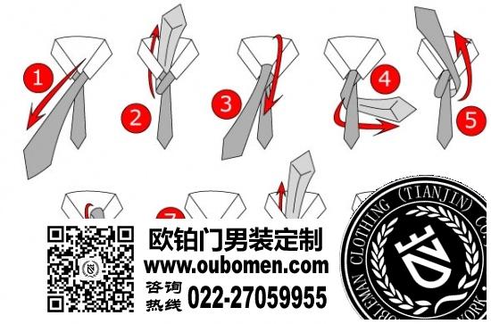 填充出一个完美的领带结三角区